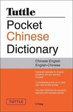 Tuttle Pocket Chinese Dictionary by Li Dong (2011, Paperback)
