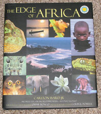 2004 THE EDGE OF AFICA PHOTOGRAPHY BOOK by CARLTON WARD, JR. - SIGNED