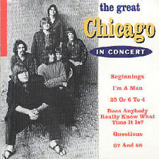 NEW - Great: In Concert by Chicago