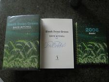 Signed First Edition,First Impression Black Swan Green By David Mitchell