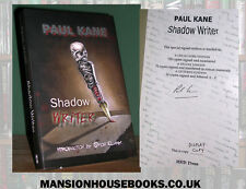 Paul Kane Shadow Writer Signed Limited Edition #27/150