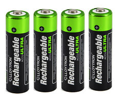 4 x Lloytron AA Rechargeable Batteries 2700 mAh NiMH ( B1025 )