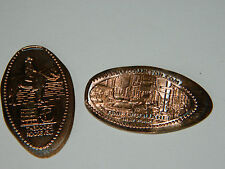 LOT pièce de 1 CENT usa THEODORE ROOSEVELT times square PENNY COLLECTOR