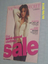 VICTORIA'S SECRET CATALOG, Semi-Annual Clothing Sale 2007, G COND.