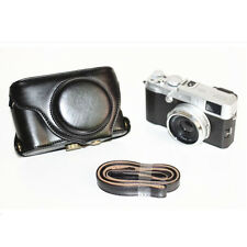High Quality Leather case cover bag for Fuji Fujifilm X100s/X100 X100T black