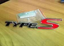 Metal Chrome 3D TYPE S TYPES Car Front Grill Badge Emblem Civic Accord FN2 EP3