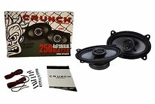 "Crunch CS46CX 4""x6"" 2-way Car Speakers Pair CS Line 250 Watts Max Warranty"