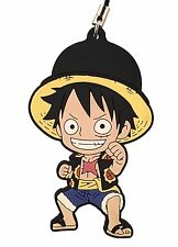 One Piece Mascot Swing PVC Keychain New World Dressrose Monkey D. Luffy @OP00001