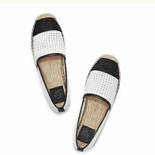 Tory Burch Grenada Mesh/Leather Espadrille- Size 9- NWT- Retail $175