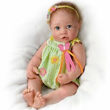 "PRECIOUS 18"" SO VERY REAL LIFE LIKE TOUCH ACTIVATED BABY DOLL DOLLS NEW"