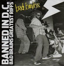 BAD BRAINS - BANNED IN D.C. CD (BEST OF) GREATEST RIFFS / US HARDCORE-PUNK