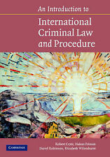 An Introduction to International Criminal Law an, Robert Cryer, Håkan Friman, Da