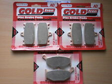 SUZUKI GSR600 K6 2006 Sintered Front & Rear Brake Pads (Full Set) GOLDFREN
