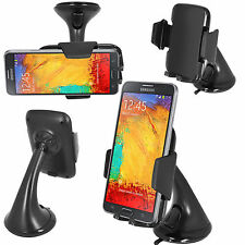 360° Windscreen Car Holder Cradle Stand Samsung Galaxy Note 2/3/4,Note Edge (FM)