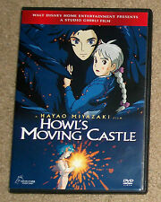Howl's Moving Castle DVD 2-Disc Genuine Disney