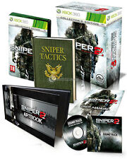 ELDORADODUJEU   SNIPER 2 GHOST WARRIOR COLLECTOR'S EDITION Pour XBOX 360 NEUF VF