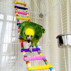 Bird Swing Wooden Bridge Ladder Climb Cockatiel Parakeet Budgie Parrot Pet Games