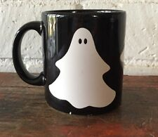 Waechtersbach West Germany Mug Halloween Ghosts Black White