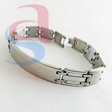 Bracciale acciaio uomo donna accessorio gioielli moda fashion stainless steel