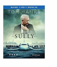 Sully (Blu-ray/DVD, 2016, 2-Disc Set) Brand New (No Slipcover)