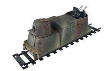 Carro de artillería de ferrocarril Segunda Guerra Mundial blindado 28mm R031
