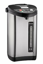 Chefman 5.3L Instant Electric Hot Water Pot Urn RJ16-LOCK Stainless Steel U