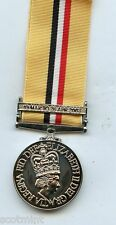 FULL SIZE OP TELIC IRAQ  REPLACEMENT MEDAL WITH BAR