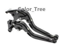 CNC Fold Extend Brake Clutch Lever For YFZ 350 Banshee 2002-2008 Black
