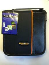 40 CD DVD Cover Case Wallet Sleeve Holder Bag