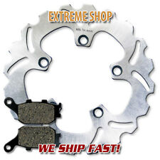 Yamaha Rear High Quality Brake Rotor + Pads FZ6 (4 Piston Caliper) (2007-2009)