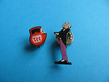 TEEKANNE Tee (TEA) Pin Badge & Butler pin Badge.