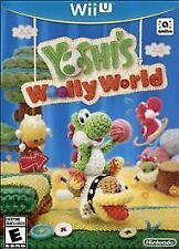 NEW Yoshi's Woolly World (Nintendo Wii U, 2015) Wolly Wooly