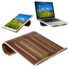 Universal Wooden Cooling Stand Holder Dock Tray for MacBook Air/Pro iPad Laptop