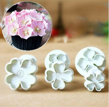 Flower Sugarcraft Fondant Decorating Plunger Cutters Mould Decorating Mold