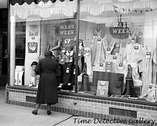 Montgomery Ward Store, Williston, North Dakota - 1937 - Historic Photo Print