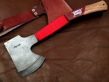 Handmade Blacksmith Damascus Steel Mini Axe-Camping-Fully Functional-DH65