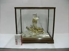 The silver Japanese Treasure Ship. #421g/ 14.82oz. Japanese antique