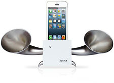 iPhone5c/5s/5/4s/4/iPodTouch5 Loudspeaker.Docking stand.Horn stand.Wood WS