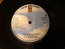B.A. ROBERTSON . KOOL IN THE KAFTAN . 1980 classic hit single NEW UNPLAYED MINT