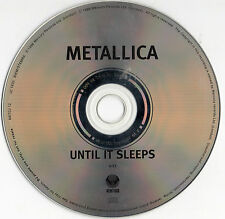 "METALLICA ""UNTIL IT SLEEPS"" RARE UK PROMOTIONAL CD SINGLE"