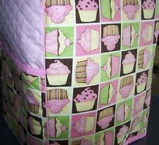 Cupcake Squares Quilted Cover for KitchenAid Mixer NEW