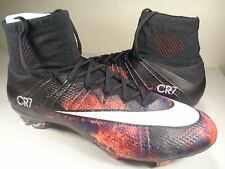 Nike Mercurial Superfly CR7 FG Ronaldo Savage Beauty Black SZ 11.5 (677927-018)