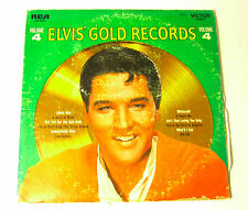 Elvis Gold Records LP Long Play Record Vol 4 LSP 3921 Good Condition