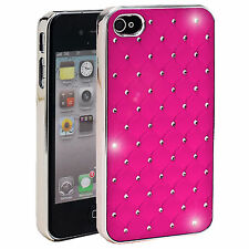 Pink Diamante Diamond Jewel Case Cover for iPhone 4s