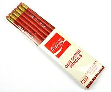 COCA-COLA 12er Pack MATITE ROSSO pencils USA 1980er-Coca Cola is it!