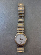 Vintage Ladies Mathew Tissot Gold Tone Watch Quartz MT303-3 1980s JAPAN