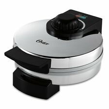 Oster CKSTWF1502-ECO DuraCeramic Belgian Waffle Maker,Natural ceramic coating