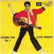"""ELVIS PRESLEY - Loving You Vol 1 (EP) 7"""" 45"""
