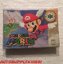 SUPER MARIO 64 Nintendo 64 N64 1996 Video Game Complete CIB 90s Mint 100% Tested