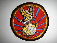 Korea War Patch USMC Photographic Reconnaissance Squadron VMJ-1